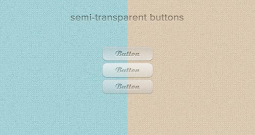 High Quality Free PSD Buttons