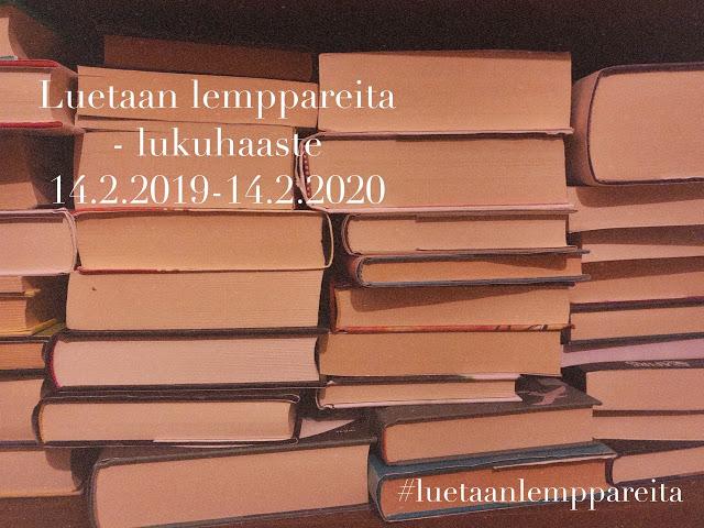 Luetaan lemppareita -lukuhaaste (14.2.2019 - 14.2.2020)