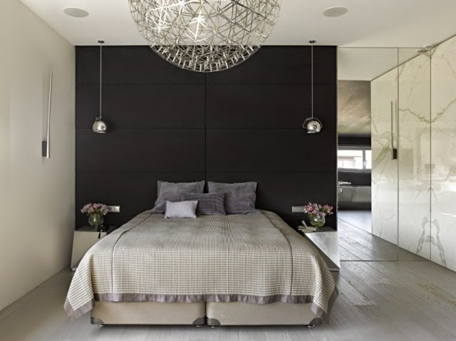 Bedroom modern design 120 ideas and inspirations - Chambre parentale design ...