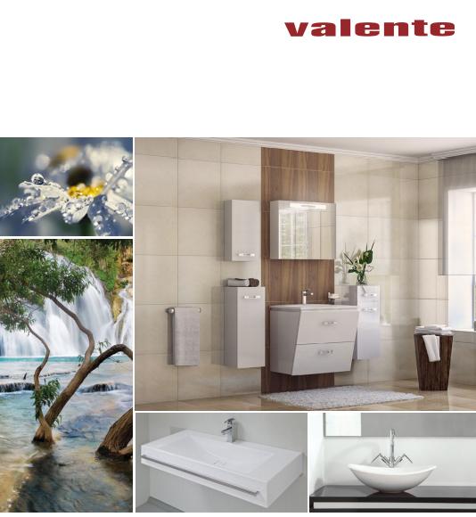 Обзор сантехники Valente: мебель для ванной комнаты и душевые кабины