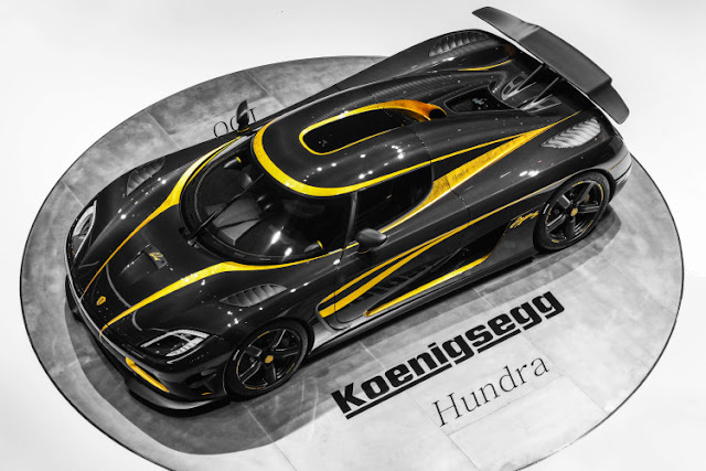 Koenigsegg Agera S Hundra: The Discreet Side of Gold Leaf & Carbon Fiber