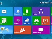 Microsoft Windows 8 | Fitur, Kelebihan dan Kekurangan Windows 8