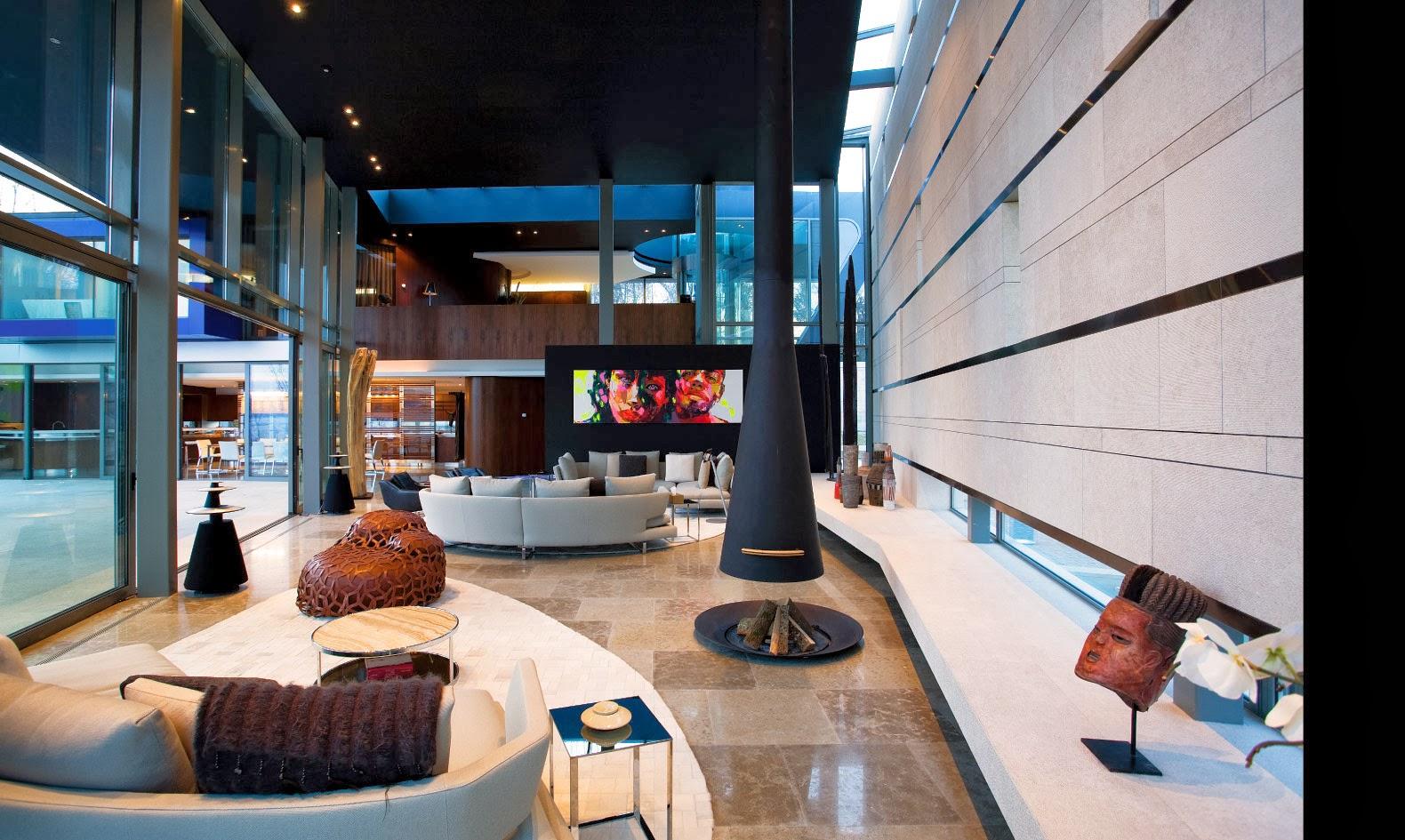 Fran Oise Nielly Sow Maison Ultra Moderne Suisse Gen Ve