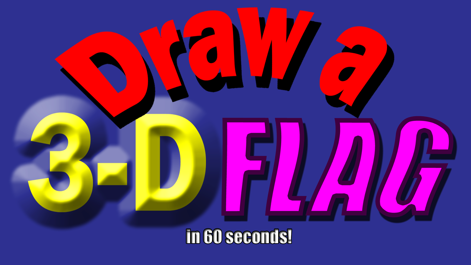 Drawing Ideas for Kids : Drawing Ideas for Kids #41 How to Draw a Flag