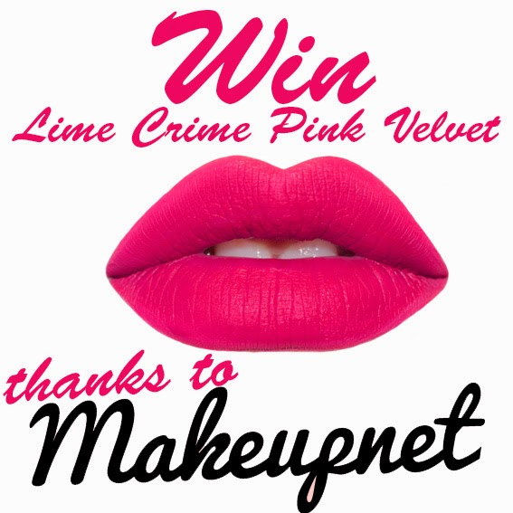 WIN Lime Crime Pink Velvet