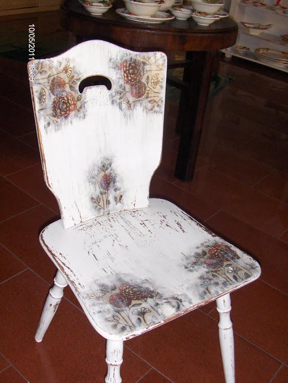 Zamrozone krzesło
