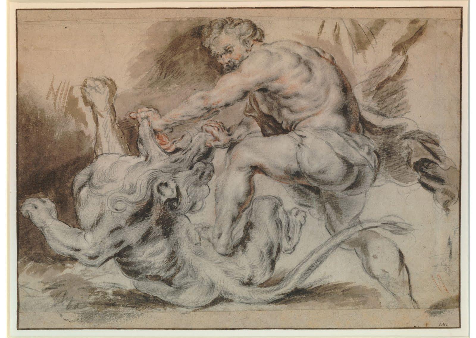 Rubens Figure Drawings Tobacco Factory Drawin...