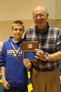 Van Alst Named Most Outstanding Wrestler at Julian McPhillips Invitational 1