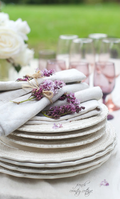 and table settings. & 18 inspired ideas for Easter table settings - FRENCH COUNTRY COTTAGE