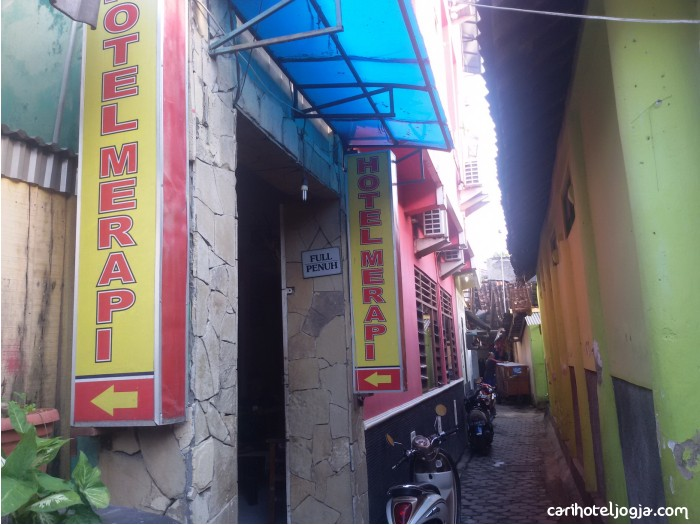 Hotel Merapi Malioboro Sosromenduran Yogyakarta