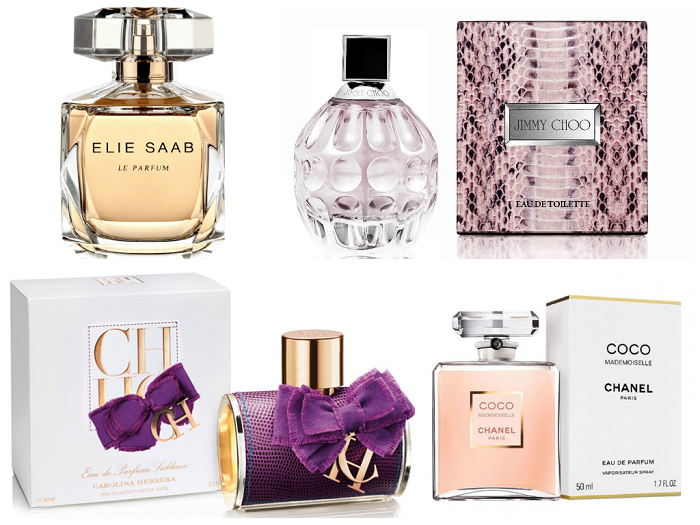 perfumes, fragrancias, elie saab le parfum, coco chanel, carolina herrera eau de parfum, jimmy choo, beleza, beauty, maquilhagem, tendencias, blog de moda, style statement