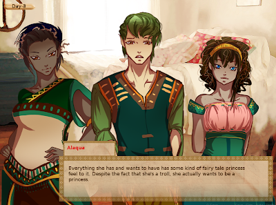 a troll's fairy tale visual novel review