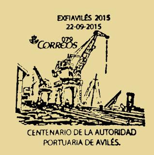 Matasellos Exfiaviles, Centenario de la Autoridad Portuaria de Avilés