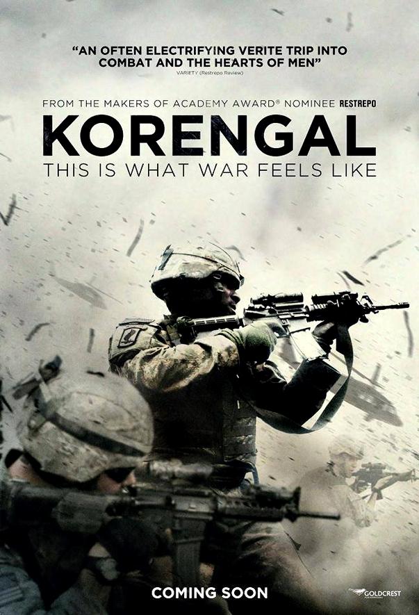 Korengal póster