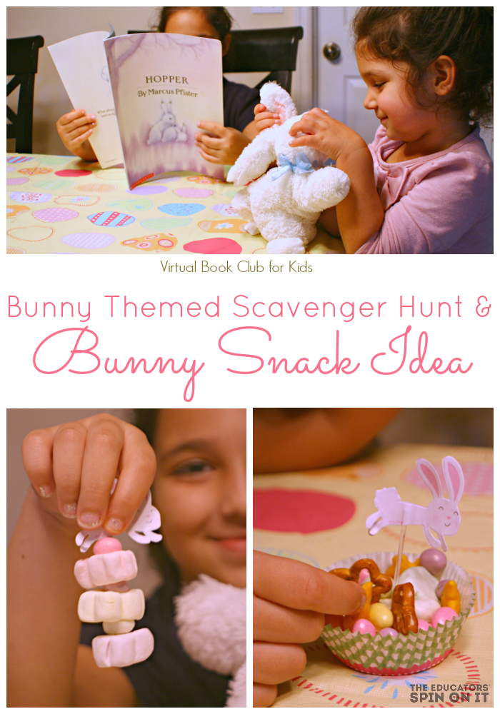 Bunny Book Club Snack Ideas for Kids