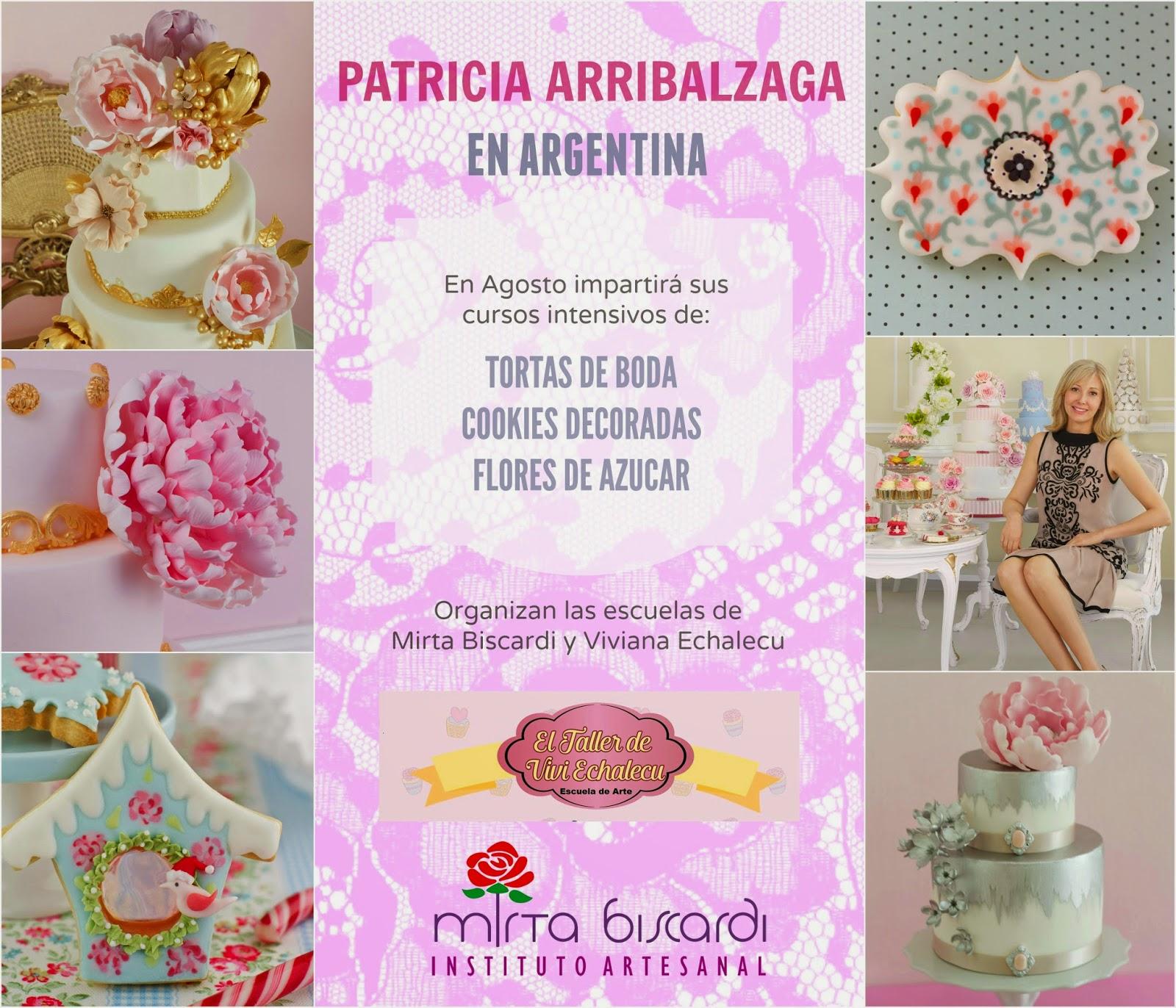 Cursos decoración de tortas Argentina