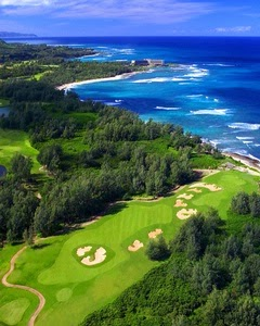 Turtle Bay Arnold Palmer Golf Course, Oahu North Shore Hawaii