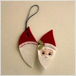Дед Мороз - игрушка из фетра