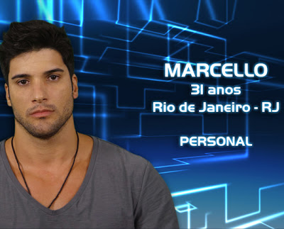 Lista de participantes do BBB 13 - Marcello - Rio de Janeiro - Flagras - Fotos