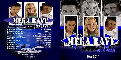 Banda Mega Rave Dj Plito Tour CD 2014