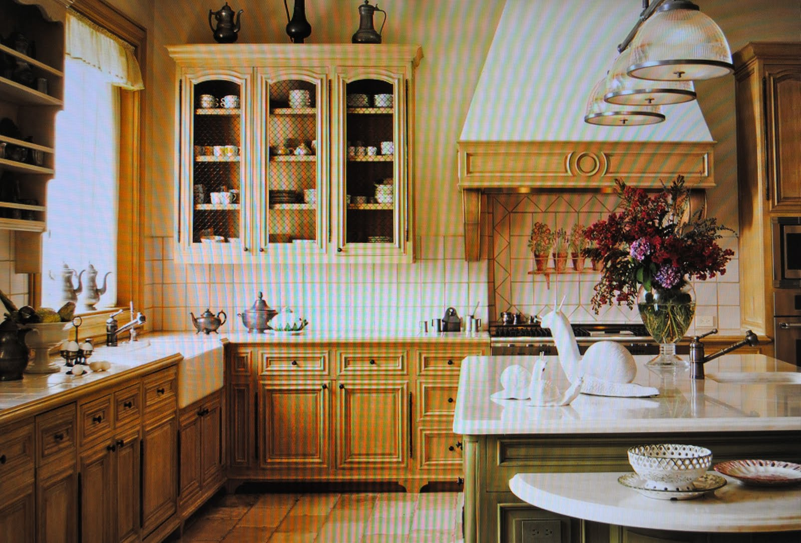 Elegant Kitchen with Island