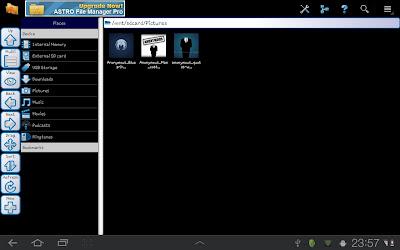 Menyembunyikan Folder/ File pada Ponsel Android