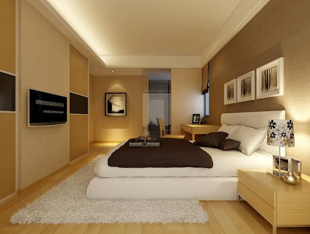 Mẫu trần thạch cao phòng ngủ căn hộ chung cư