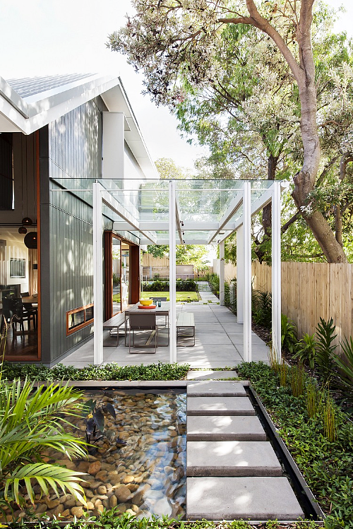 Model Teras Rumah Minimalis Dengan Atap Transparan