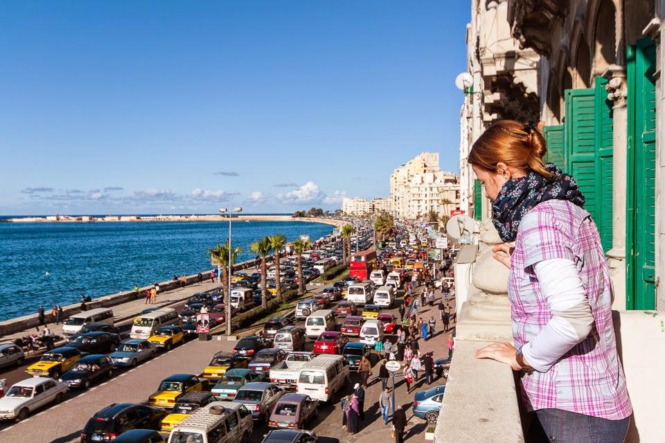 kilátás az Alexandriai-öbölre