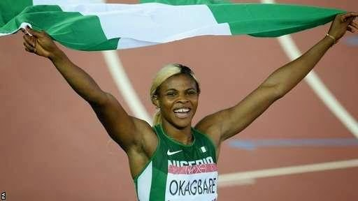 Blessing Okagbare wins Gold in Women