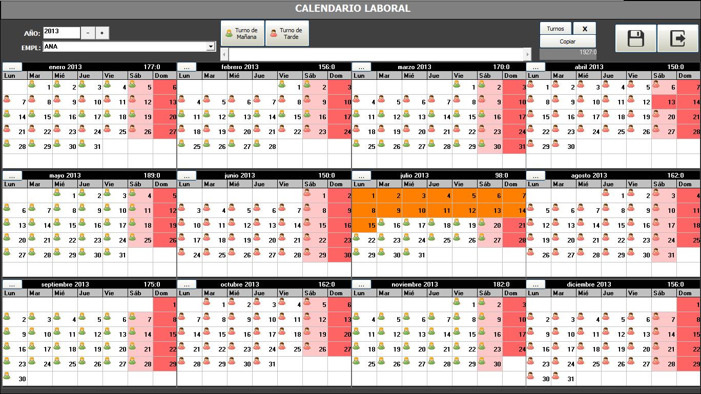Calendario 2013 personalizado com foto 29