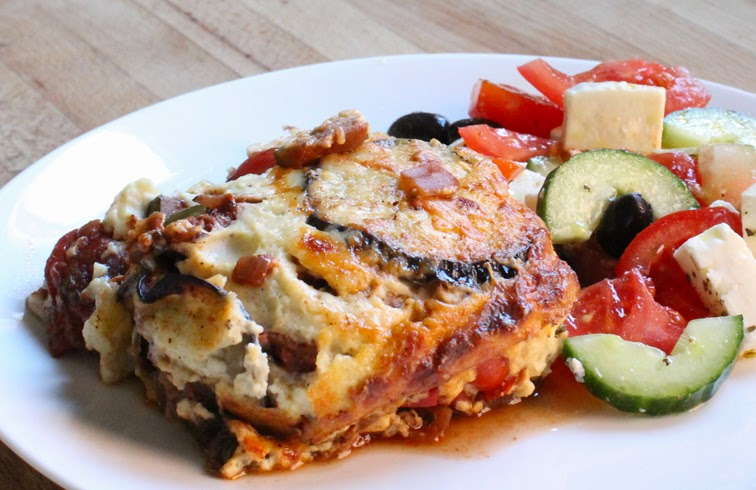 ... of Oil : Mediterranean Vegetable Moussaka - National Vegetarian Week