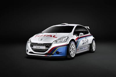 2013 Peugeot 208 R5 Rally car
