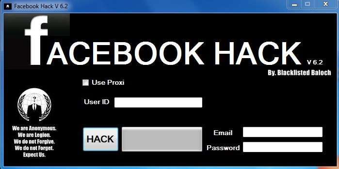 Facebook Account Hacker 2013 V6.2 Free Download