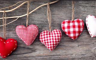 Fondos de pantalla de Hermosos Corazones para San Valentín
