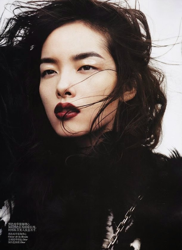 chinesebeauties, chinesetopmodels, chineseface, Fei Fei Sun, mannequin, Cosmopolite Beauté, beautés chinoise, top model chinois