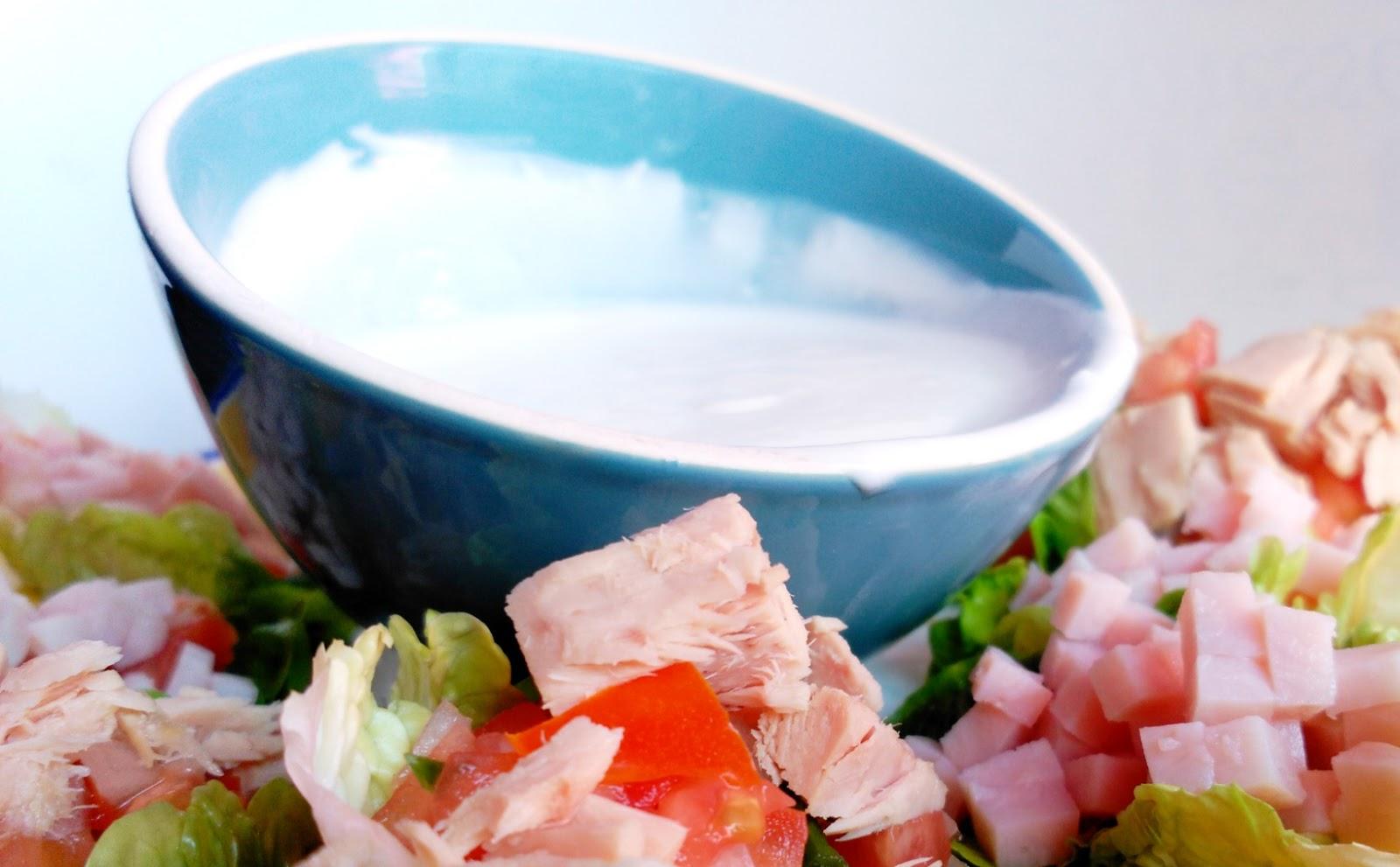 Salsa De Yogurt Baja En Calor As Recetas Fitness F Ciles Recetas  ~ Recetas Faciles Y Bajas En Calorias