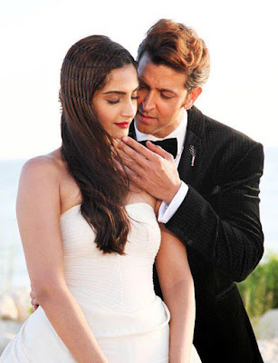 Stills from Dheere Dheere song of Sonam Kapoor with Hrithik Roshan in Turkey