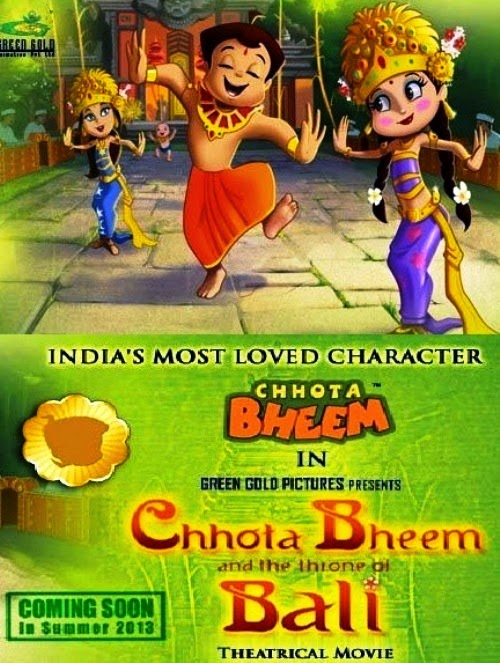 download Chhota Bheem and the throne of Bali in hindi