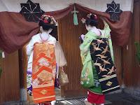 京舞・家元井上流に集まり技芸上達を励んで新年のあいさつ