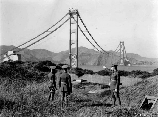 the history of the construction of the golden gate bridge Deconstructing history: golden gate bridge   history  construction fails that wasted time & money  the building of the golden gate bridge.