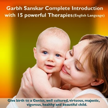 Garbh Sanskar Complete introduction with 15 powerful therapies (English Language)