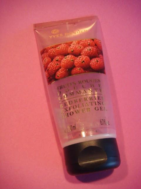 Gel de Ducha Exfoliante de Frutos Rojos de Yves Rocher