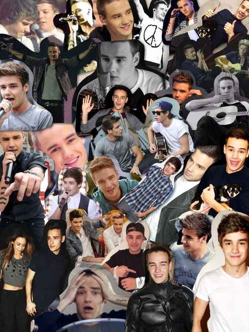 Liam One Direction Collage Tumblr