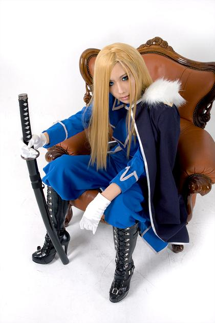 how to make olivier armstrong cosplay