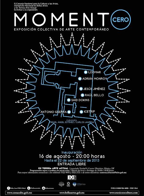 """Exposición """"Momento Cero"""" en el Ex Teresa Arte Actual"""