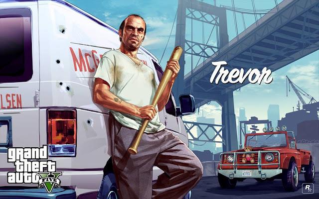 Jeux GTA 5 - Couverture Facebook