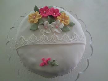 Min första tårta!