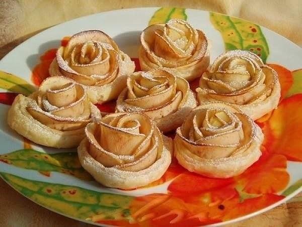 """Пирожные """"Розы"""""""