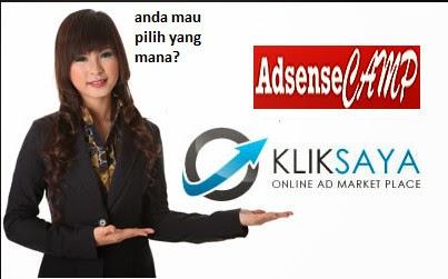 kliksaya VS adsensecamp